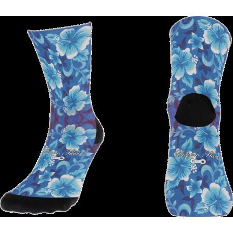 Hawaiian Flowers Sock
