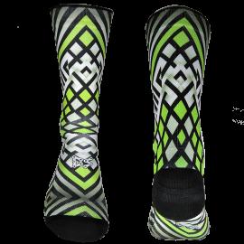 Multirhombus Fluor Green