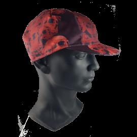 Schädel rote Kappe