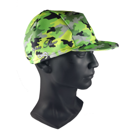 Yellow Camouflage Cap