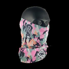 Tubular Camuflaje Rosa Flúor