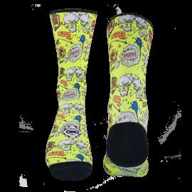 Boom Yellow Sock