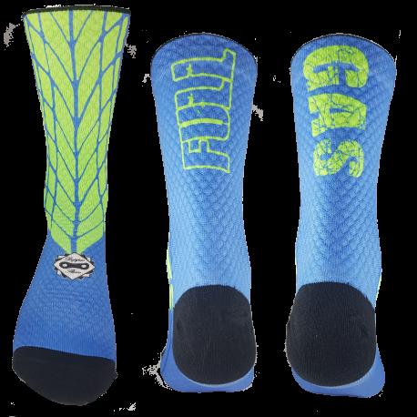 Ruedas Azul-Verde