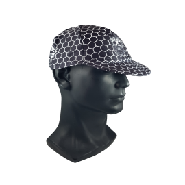 Black Hex Skull Cap