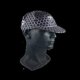 Black Hex Skull Cap