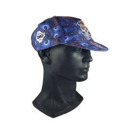 Blaue mexikanische Kappe