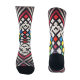 Multi rhombus sock