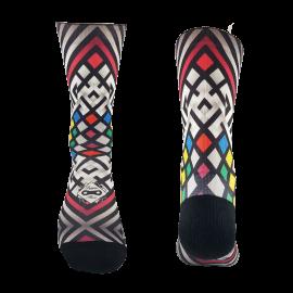 Multi Rhombus Socke