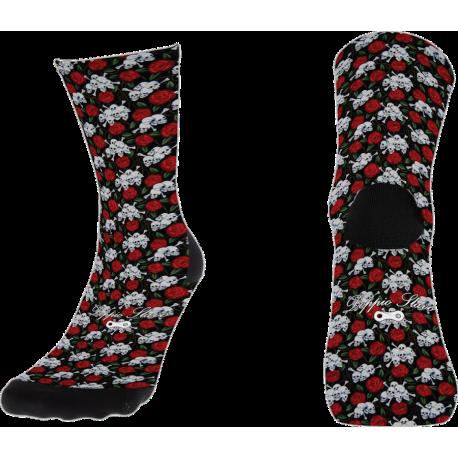 Skulls & Roses Sock 2