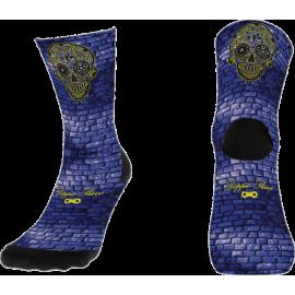 Pavé & Schädel socke