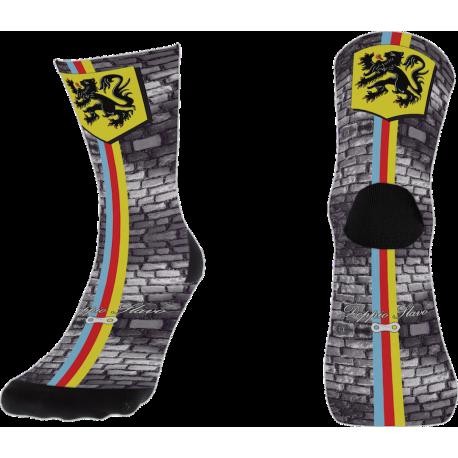 Pavé & Skull Socke